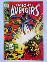 Avengers #65 - Swordsman Iron Man Thor Captain America Marvel Comics