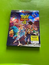 Toy Story 4 (Blu-ray, Dvd, Digital, w/Slipcover, 2019) New Free S/h !