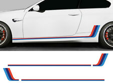 2 X BANDES RACING POUR BMW MOTORSPORT M AUTOCOLLANT STICKER AUTO (BD547)