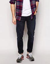 SIZES 27 31 32 34 NUDIE jeans GRIM TIM 11 MONTHS slim skinny dark blue