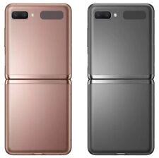 Samsung Galaxy Z Flip 5G SM-F707U1 - 256GB - Mystic bronze (Unlocked) 10/10 Mint