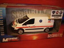 1/43 Fiat Scudo II Serie 2007 2016 Furgone Van Emergenza Sanitaria Mondo Motors