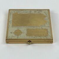 Vintage Wadsworth State of Pennsylvania Powder Compact Mirror Puff w Powder