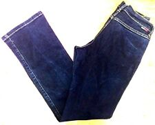 Tommy Hilfiger womens Jeans sz 9 classic rise straight leg boot cut dark   HH42