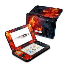 Nintendo 3DS XL Skin - FLOWER OF FIRE - Decal Sticker