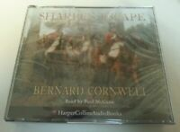 AUDIO BOOK CD - New Sealed Sharpe's Escape Bernard Cornwell Read By Paul McGann