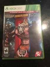 2K Essentials Collection Xbox 360 Game Bioshock Borderlands Xcom Enemy Unknown