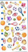 SPORTS Mini Icons - Sticko Stickopotamus Scrapbooking Craft Sticker
