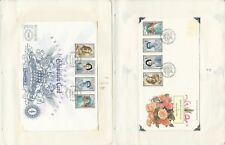 Great Britain Stamp Collection, 1990, #1327-30 Covers, Some Pilot Auto, 11 Pages