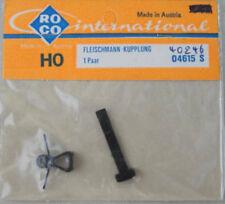 Roco 04615s (40246) 1 pares de Fleischmann acoplamientos h0, en embalaje original + nuevo