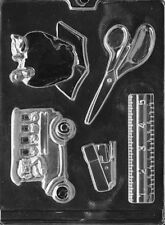 J082 Teacher's Kit Chocolate Candy Soap Mold with Instructions
