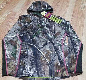 UNDER ARMOUR INFRARED  HUNTING SCENT CONTROL WOMEN'S CAMO HOODIE, 1247093 340