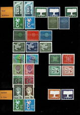 CEPT Sammlung von 1956-1971 postfrisch. Wert 939 Euro