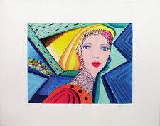 """MARIA MURGIA - """"Composizione"""" - Serigrafia a 25 colori cm 48x62"""