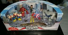 💥new in box 💥super hero squad figures collectable OOP rare wasp gray hulk thor