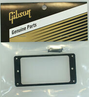 Gibson Les Paul Black Bridge Pickup Mounting Ring w/Screws / Genuine