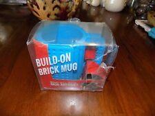 Unique Gift Build On Brick Blocks Tea Coffee Mug Cup BPA Free US SELLER