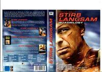 Stirb langsam - Quadrilogy (Bruce Willis) 4-DVDs / DVD