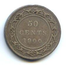 CANADA NEWFOUNDLAND VICTORIA (1837-1901) 50 CENTS 1900 KM 6