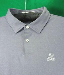 VENTANA CANYON Golf Club Peter Millar FEATHERWEIGHT golf shirt XL