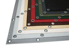 Balkon Fensterplane Fensterfolie Zelt Transparent 0,8 mm 950 g //m² für Terrasse