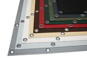 LKW PVC Plane Meterware oder mit Ösen, Premium beschichtet, 950 g/m², Industrie
