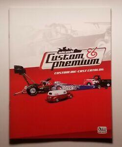 2010 Auto World Custom & Premium Die-Cast Brochure