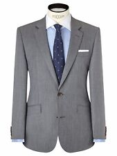 JOHN LEWIS Woven In Italy Fine Twill Tailored Suit Jacket, Size 42R £165 BNWT