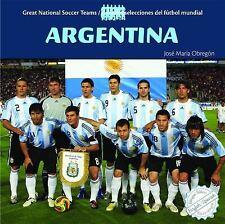 Argentina (Great National Soccer Teams Grandes Selecciones Del Futbol -ExLibrary