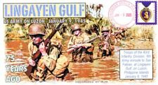 COVERSCAPE computer designed 75th anniversary WWII Lingayen Gulf event cover