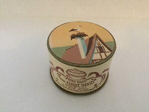boite publicitaire en carton, foie gras maison albert henry, strasbourg