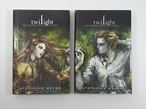 Twilight the Graphic Novel - Volume 1 and 2 (First Edition Hardcover)