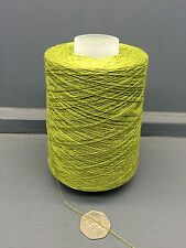 200G 2/30NM 100% SILK YARN LIME OLIVE GREEN CALYPSO
