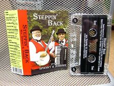SPANKY STILES & JOHNNIE MAREK Steppin Back cassette tape 2003 Michigan accordion