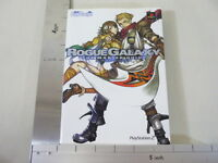 ROGUE GALAXY Master Guide PS2 Book MW*