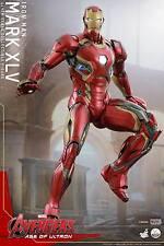 Hot Toys 1/4 Marvel Avengers Qs006 Iron Man Mk45 Mark XLV Masterpiece Figure