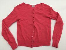 Stile Benetton Womens Sweater Blouse Italian Cashmere Blend Sweat Shirt Pink