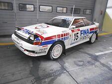 TOYOTA Celica ST165 Rallye Tour de Corse 1991 Duez #15 Fina  IXO Triple9  1:18