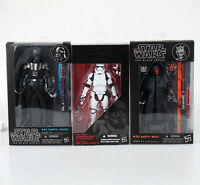 STAR WARS FIGURES DARTH VADER STORMTROOPER DARTH MAUL THE BLACK SERIES 15-17cm