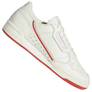 Adidas Originals Continental 80 Women's Sneakers EE3831 Trainers White Red Pink