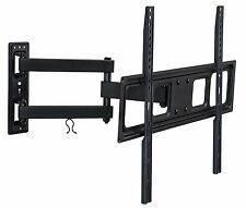 Mount-It! Wall Mount Bracket with Full Motion Articulating Arm 17 Inch Extension