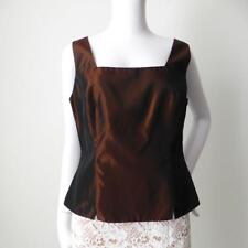 ANTHEA CRAWFORD Sleeveless Top Size 10 US 6 Made in Australia