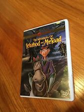 THE ADVENTURES OF ICHABOD AND MR TOAD DVD DISNEY GOLD