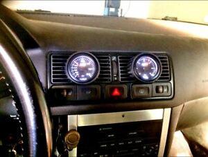 VW Golf 4 MK4 Instrumentenhalter Turbo Ladedruckanzeige Boost Gauge Pod