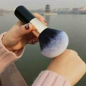 Large Black Soft Powder Big Blush Flame Brush Foundation Makeup Beauty Tools