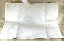 1943 Antik Map Of Eastbourne Charleston Manor West Firle Lewes East Sussex