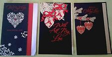 New! Xmas Card For Wife W/Big Lacey Heart~ Retails $6.29 + Free Shipping!