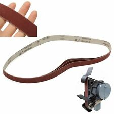 """3 Pack 1"""" x 30"""" Sanding Belts, 400 Grit, AL Oxide 762 x 25mm YS"""