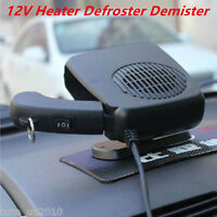 Portable Car Heating Cooling Ceramic Heater Fan Defroster Demister 12V 150-300W