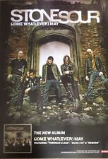 Stone Sour - Come whatever - Rare Original Promo Poster - double- 17x24 Inches